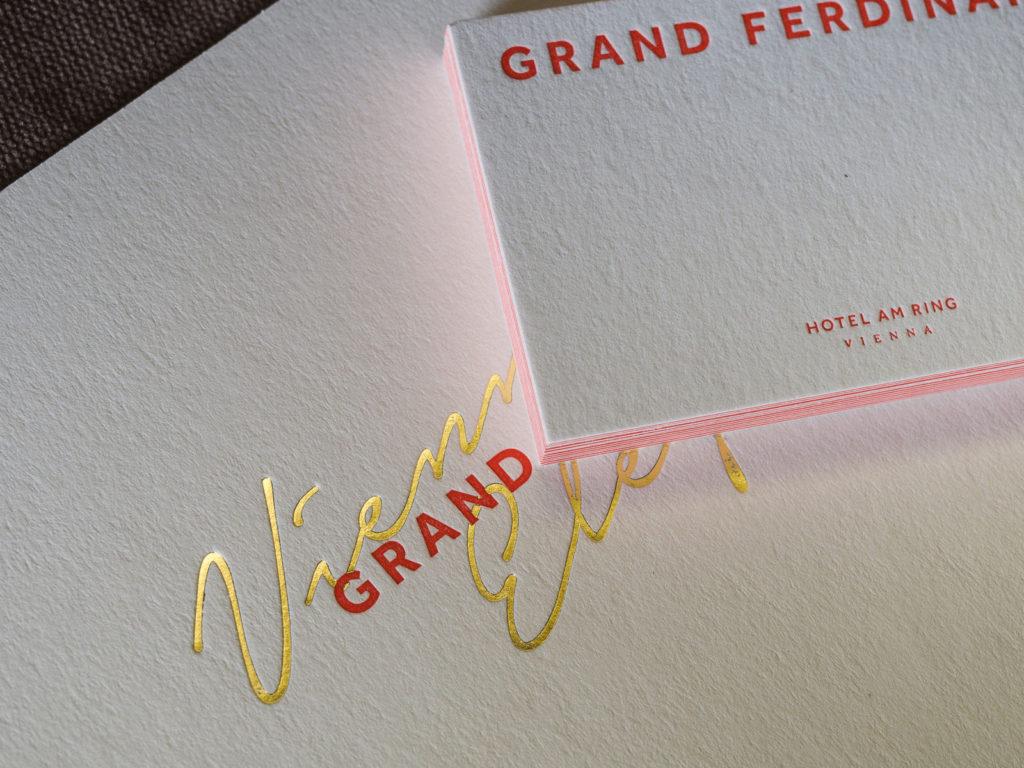 Grand Ferdinand Infinitive Factory Custom Made Letterpress