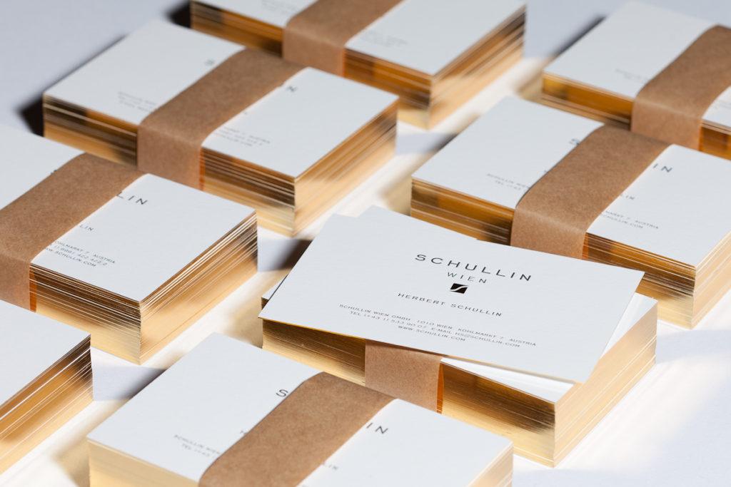Schullin Infinitive Factory Custom Made Letterpress