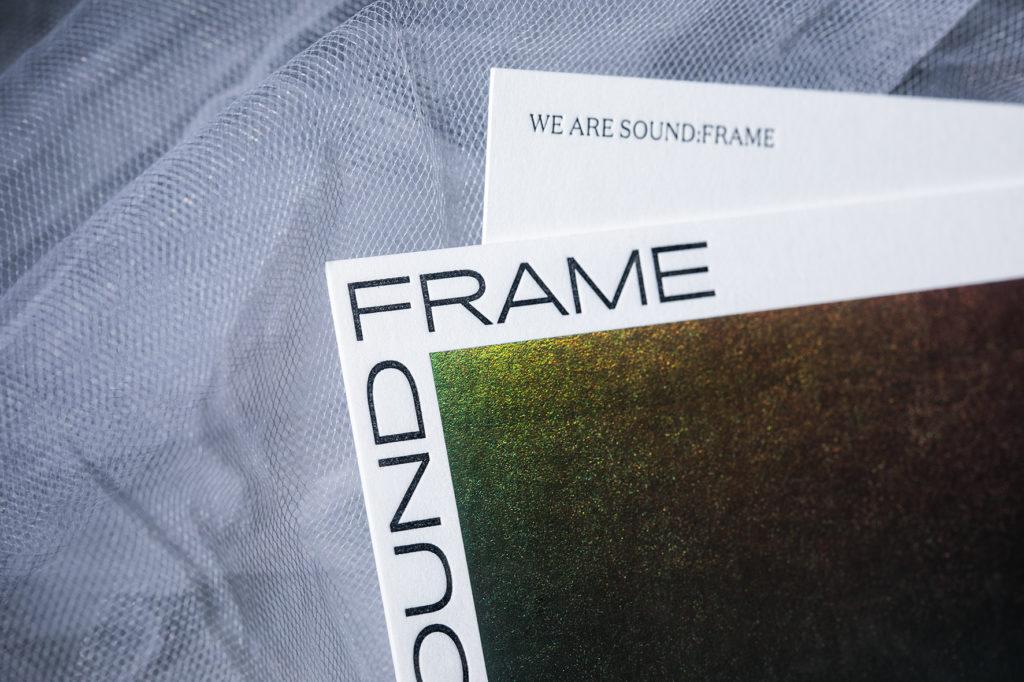 sound:frame | Infinitive Factory | Custom Made Letterpress